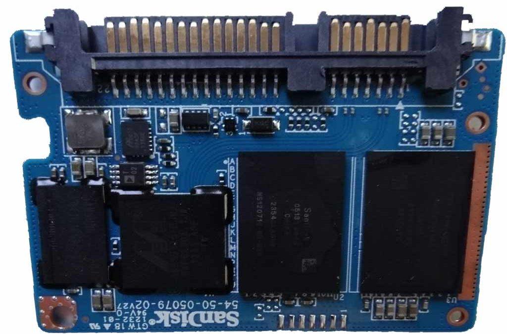 Problemy z dyskami Sandisk SSD Plus na kontrolerze Marvell 88SS9175